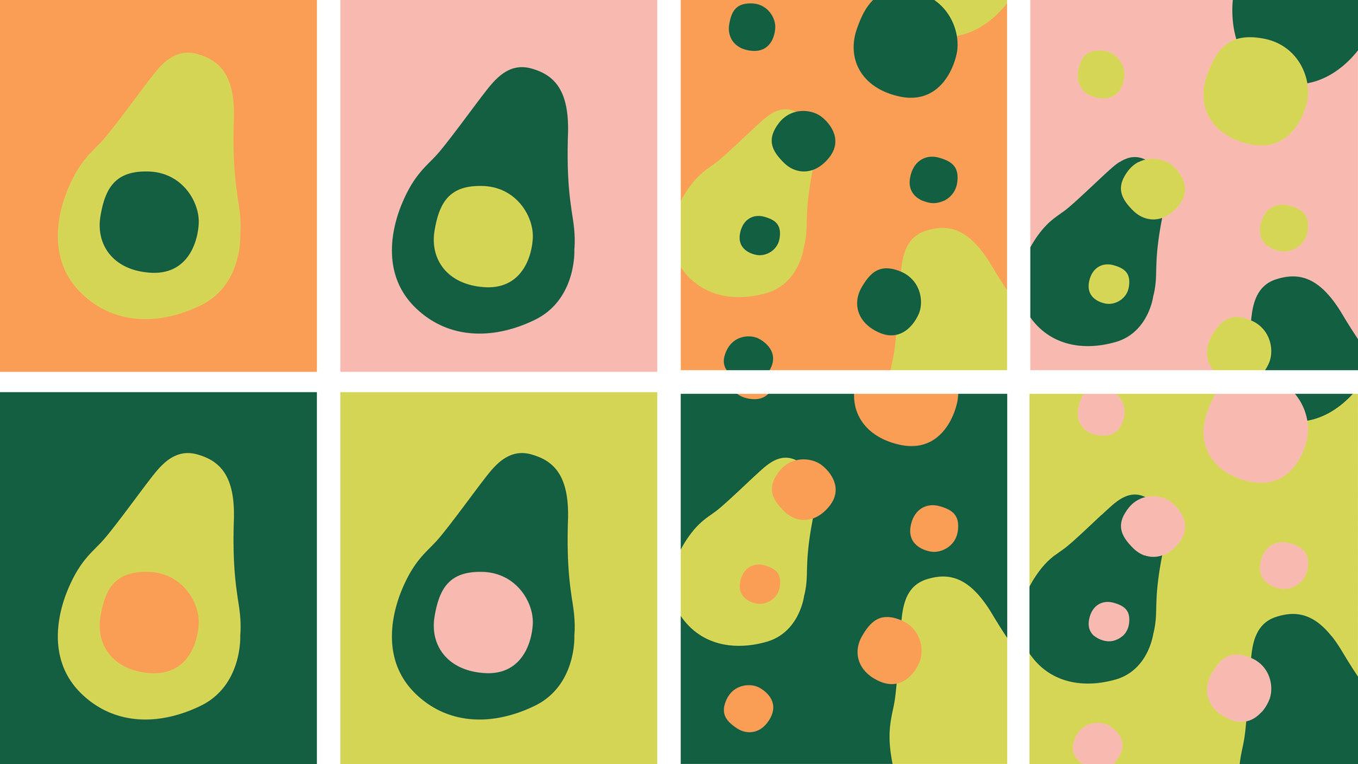 Motifs avocado