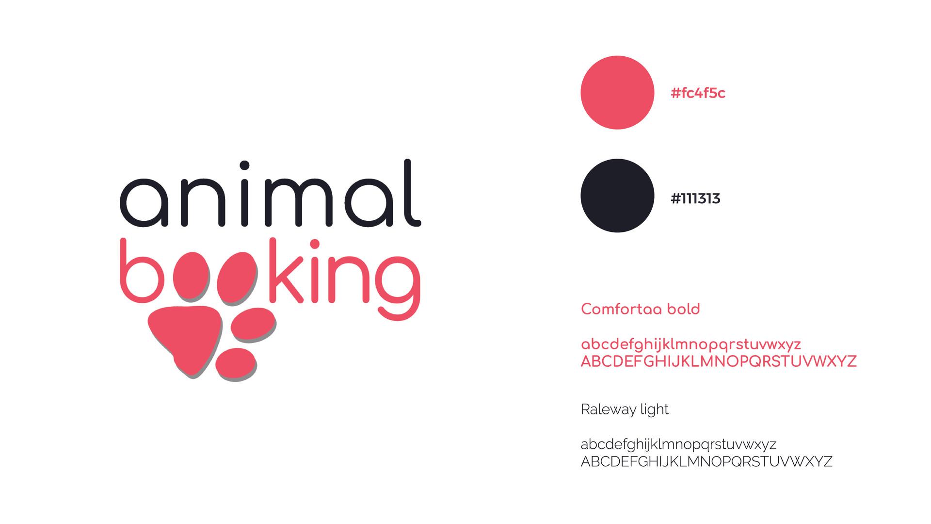 Logo Animal booking