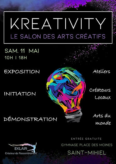 Affiche KREATIVITY 2019