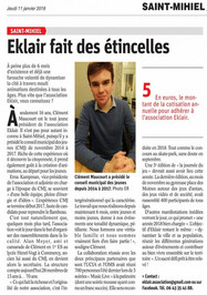 Article Est Républicain 11 Janvier 2018