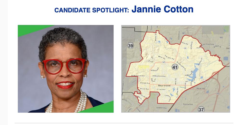 Progressive Arkansas Women PAC Candidate Spotlight: Jannie Cotton