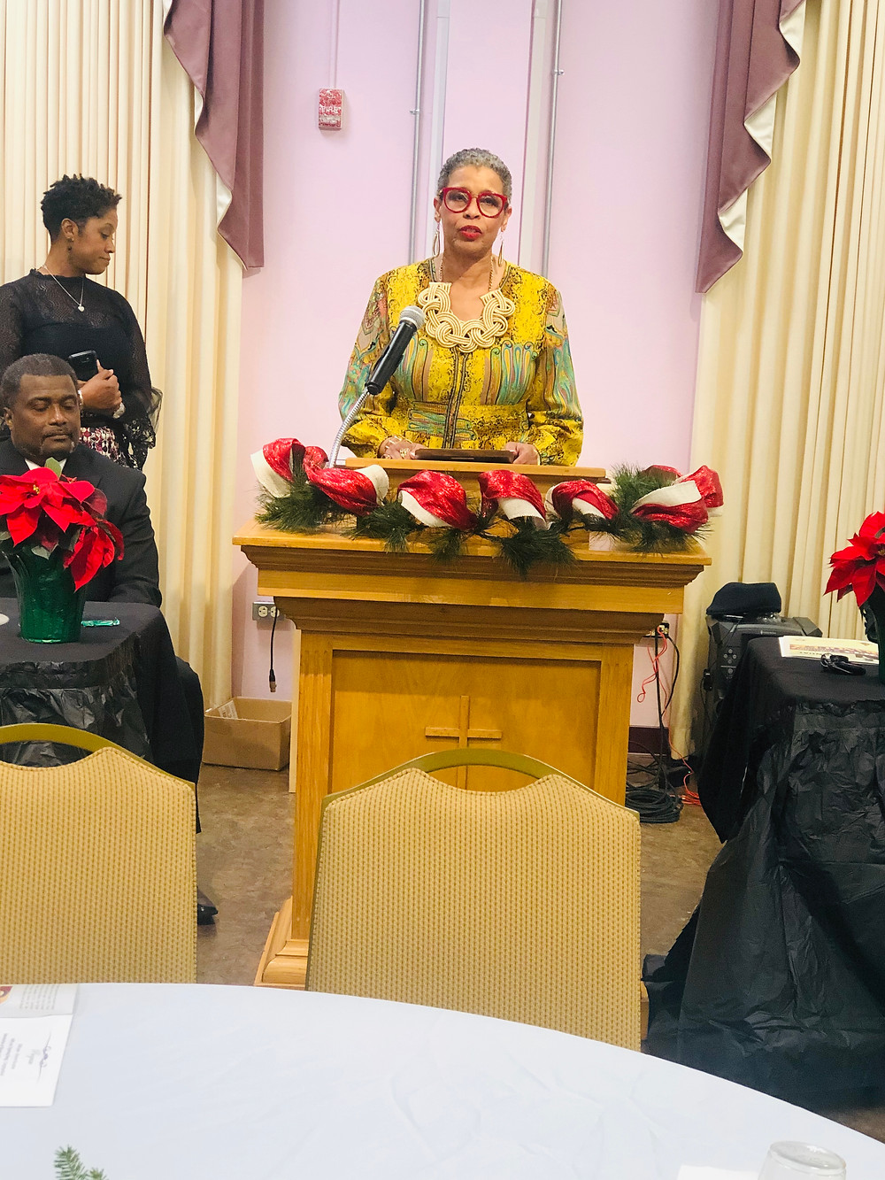 "Candidate Jannie Cotton's acceptance speech for the 2019 Monroe ""Billy"" Murdock Woman of the Year Award"