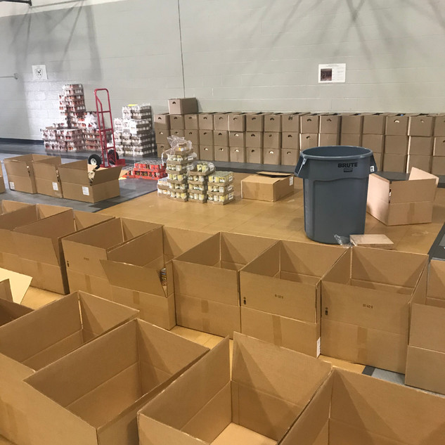 NZGWC & Arkansas Food Bank Community Food Giveaway