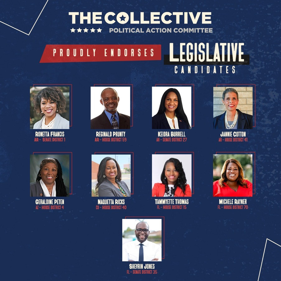 The Collective Political Action Committee endorses Candidate Jannie Cotton and other Legislative candidates