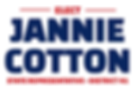 Elect Jannie Cotton State Representative - District 41 logo.png