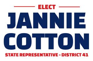 Jannie Cotton official campaign logo