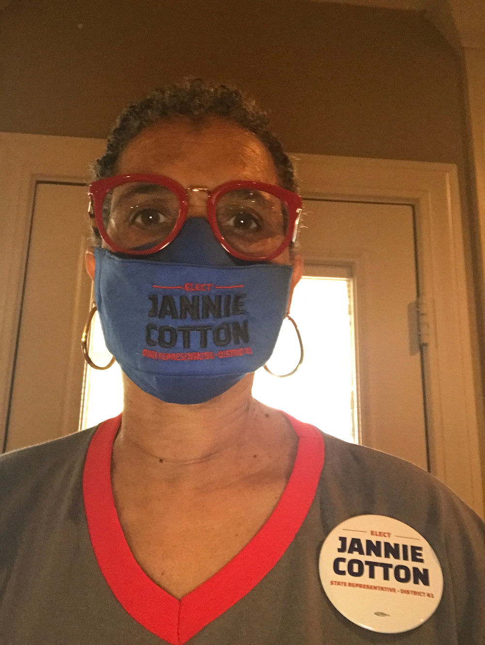 Vote Candidate Jannie Cotton State Representative District 41