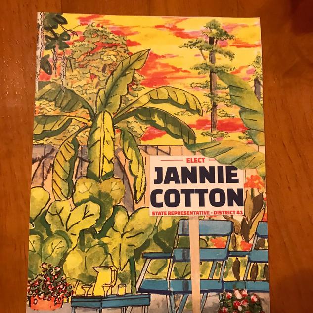 Jannie Cotton Campaign Sign Postcard.jpeg