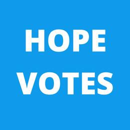 HOPE VOTES!