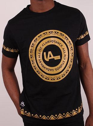 Clairvoyance Black-Gold Shirt