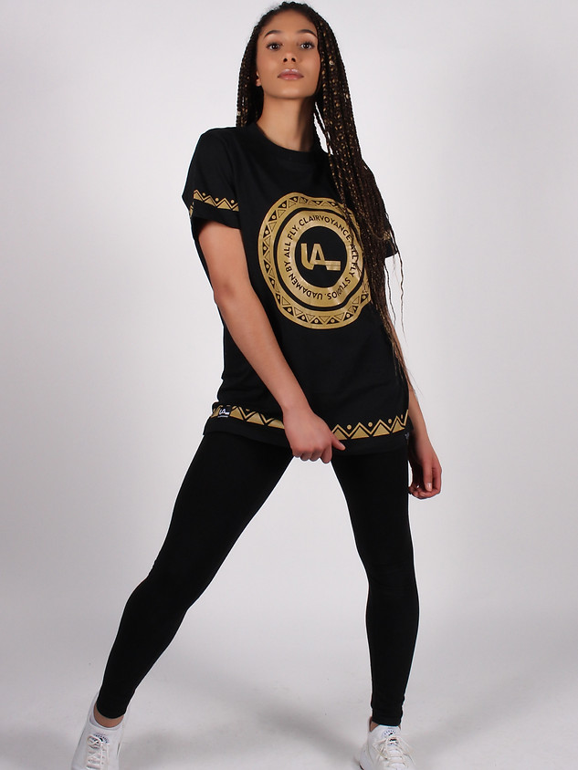 Clairvoyance Black-Gold Shirt