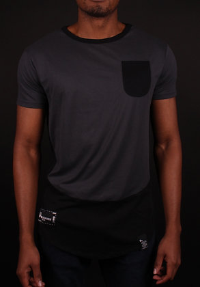Rhetoric Black-Grey Shirt