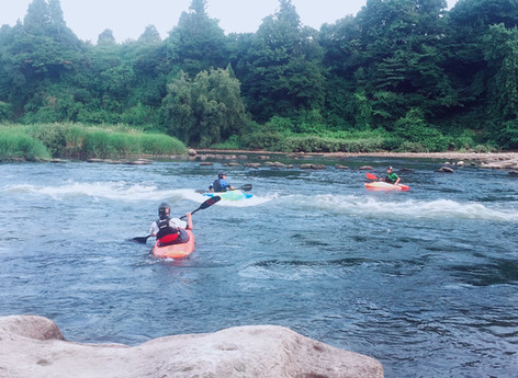 freestyle canoe 東北大会