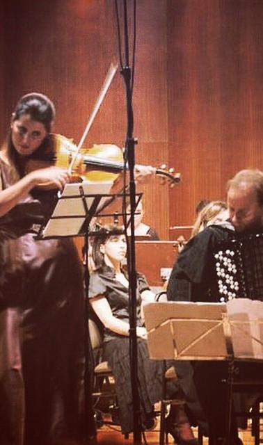 With Anadolu Symphony Orchestra, Eskisehir - TR