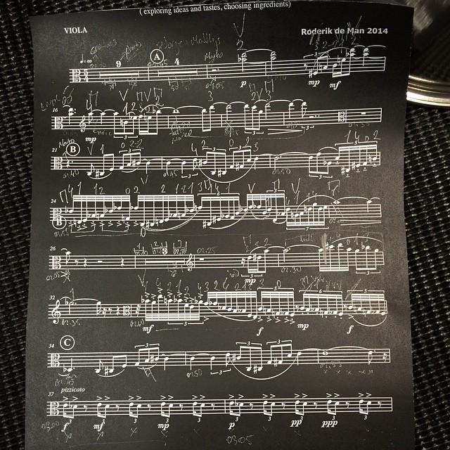 Score of Kaiseki