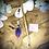 Thumbnail: Pic à cheveux Chêne - Violet
