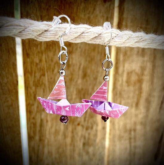 Petits Bateaux - Rose et Violet