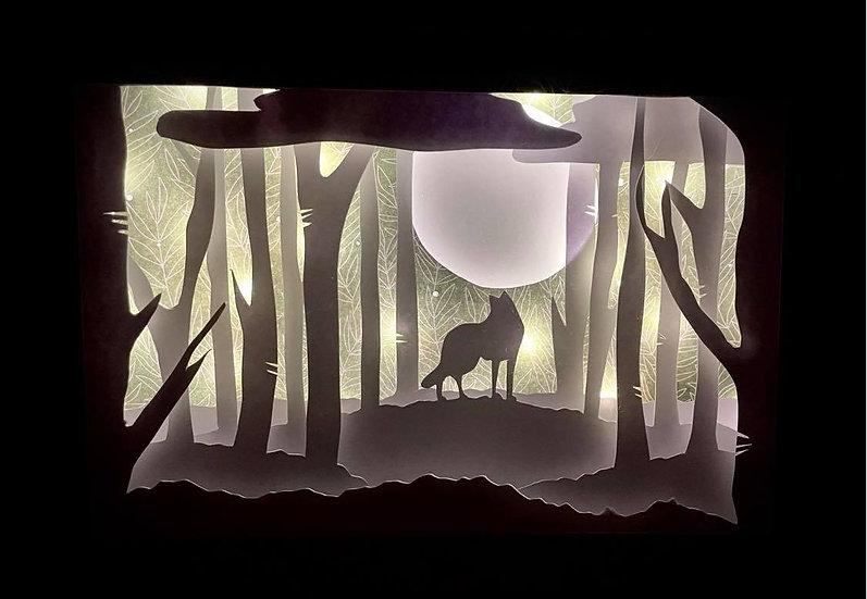 Shadow Light Box - Loup