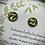 Thumbnail: Clous d'oreille - Vert métallisé / Kraft
