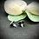 Thumbnail: Clous d'oreilles - Holographique Green Stars