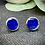 Thumbnail: Clous d'oreille - Saphir Holographique
