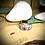 Thumbnail: Bague Acier et Papier - Fleurs Colorées