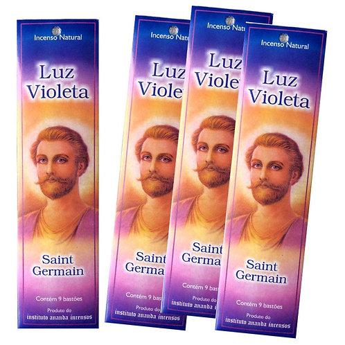 Incenso Luz Violeta Saint Germain