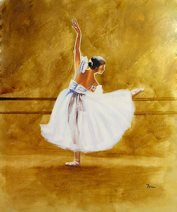 Ballet Dancer at the barre