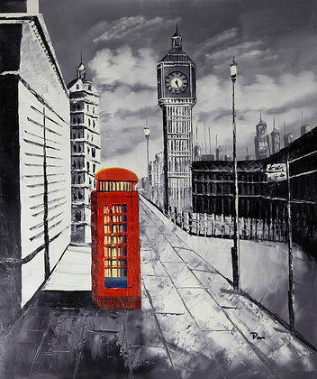 London - Classic Telephone Box