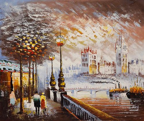 London - Big Ben colour