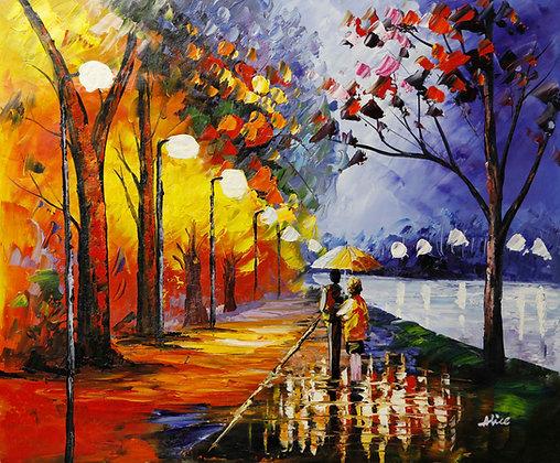 Romantic Canal Walk