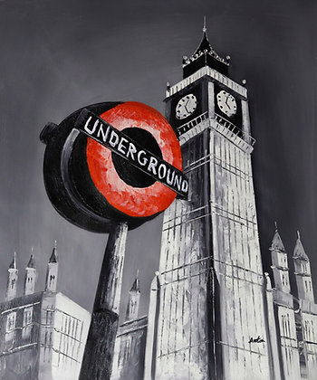 London - Iconic Underground Sign