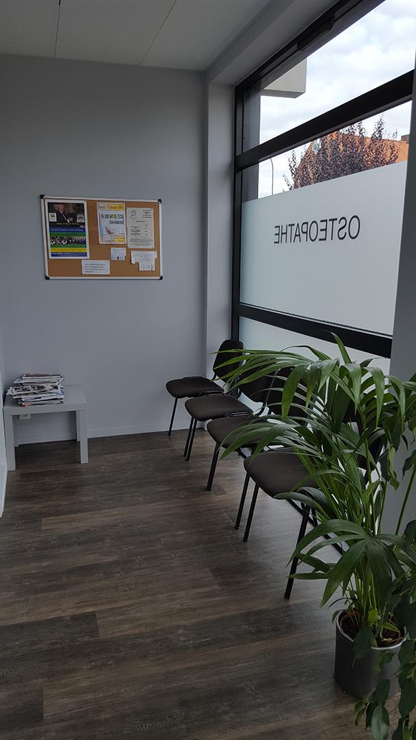 Salle d'attente Cabinet