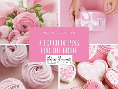 Blush and Bashful Weddings