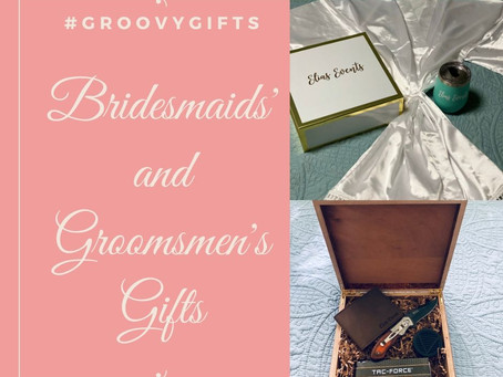 Groovy Wedding Party Gift Ideas