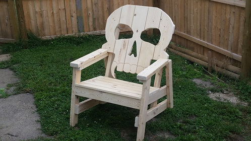 Skull Chair witout stain