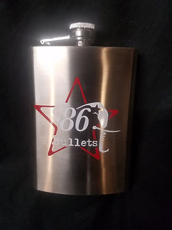 86 Bullets Stainless Steal flask