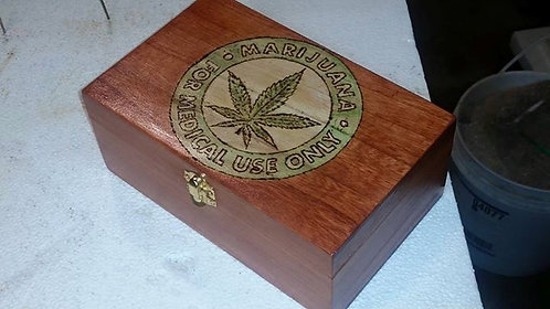 Fun Medical Marijuana Stash Box