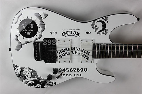 Kirk Hammett Ouija Board Guitar
