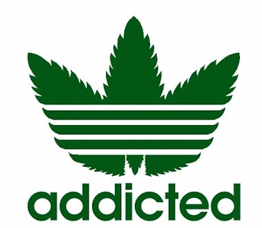 Addicted / Adidas logo