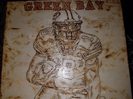 Green Bay Packers Randall Cobb KeepSake Box