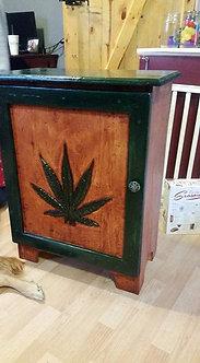 Pot Leaf Cabinet