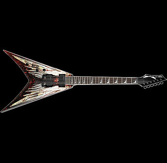 Dave Mustaine Angle Wing Jackson