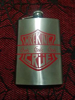 Wrecking Crue - Girls Girls Girls - Flask