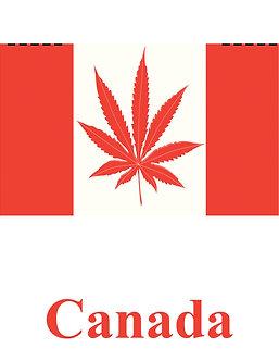 Canadian/Marijuana flag