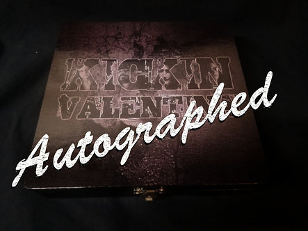 Kickin Valentina Cigar Box With Autographes