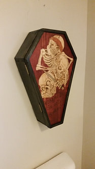 Coffin Wall Cabinet
