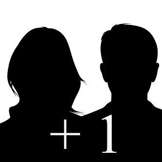 + 1 Person