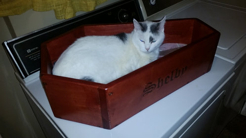 Cat Bed Coffin