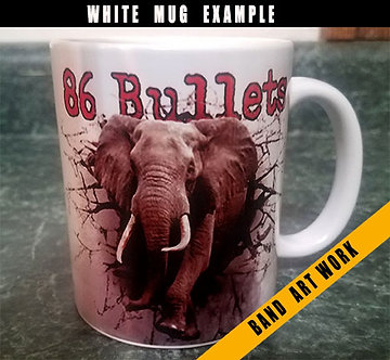 Design Your Own White Coffee Mug